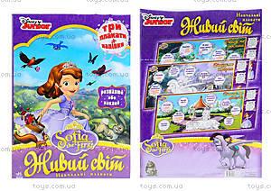 Обучающие плакаты «Принцесса София. Живой мир», Р457024У