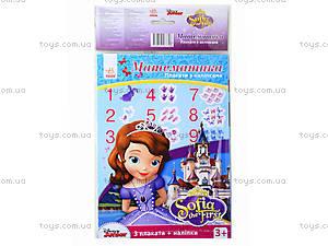 Плакаты с наклейками «Математика», Л457010РУ, фото