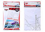 Раскраска-плакат Disney «Тачки.Финт МакТорпеда», С457051РУ, отзывы