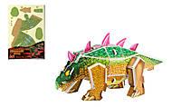 """DIY 3D пазл """"Динозавры"""" , КВ-135"""