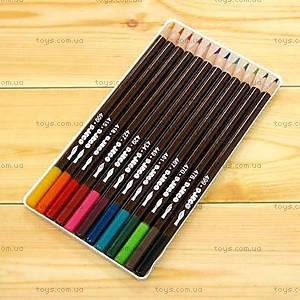 Цветные карандаши DJECO, 12 штук, DJ08824, купить