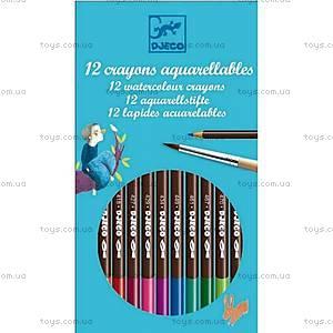 Цветные карандаши DJECO, 12 штук, DJ08824