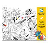 Комплект для рисования-разукрашка «Бал бабочек», DJ09645, фото