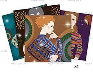 Художественный набор для рисования блестками «Мода», DJ09506, фото