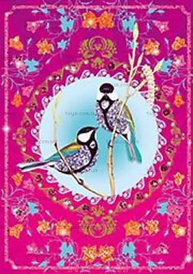 Художественный набор для рисования блестками «Птицы с блестками», DJ09501, фото