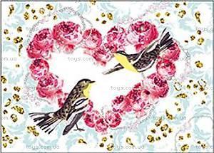 Художественный набор для рисования блестками «Птицы с блестками», DJ09501, отзывы