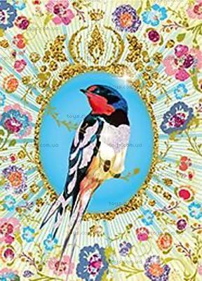 Художественный набор для рисования блестками «Птицы с блестками», DJ09501, цена