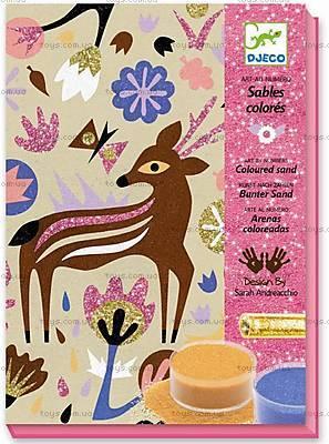 Рисование цветным песком «Чудеса леса», DJ08662