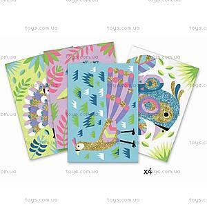 Набор для рисования цветным песком «Ослепительные птицы», DJ08663, отзывы