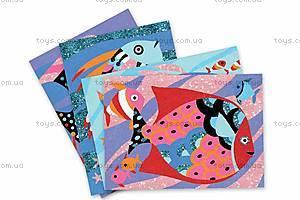 Набор для рисования цветным песком и блестками «Радужные рыбки», DJ08661, отзывы