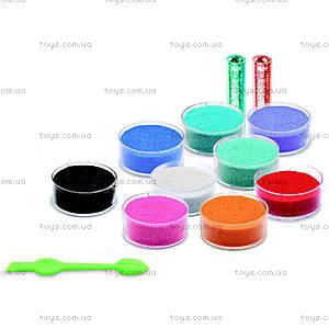 Набор для рисования цветным песком и блестками «Радужные рыбки», DJ08661, цена