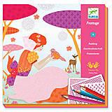 Набор для рисования карандашами «Красивые платья», DJ08985, купить