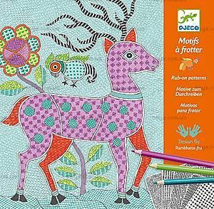 Художественный набор для рисования карандашами «Митхила», DJ08987