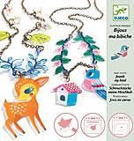 Набор для поделок из пластика «Олененок и птица», DJ09494, магазин игрушек