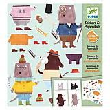 Художественный комплект с наклейками «Мои друзья Барбосы», DJ09694