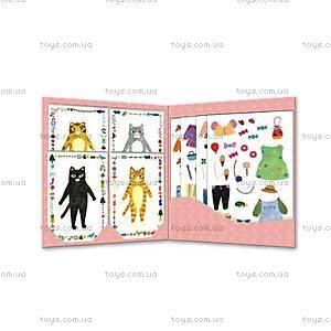Художественный комплект с наклейками «Мои друзья Мурлыки», DJ09695, купить
