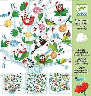 Художественный комплект с наклейками «Весна», DJ08933