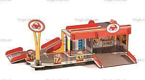 3D конструктор из картона «Гараж», DJ07705