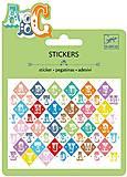 Набор наклеек «Буквы», DJ09768, игрушки