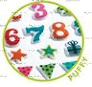 Набор мягких наклеек «День рождения», DJ09773, купить