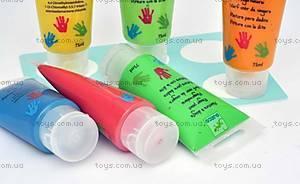 Набор пальчиковых красок Djeco, 6 штук, DJ08860, отзывы