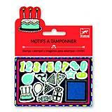 Набор штампов «День рождения», DJ09789, фото