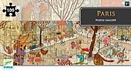 Пазл Djeco на 100 деталей «Париж», DJ07637