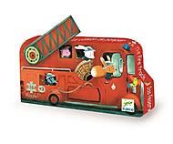 Пазл на 16 деталей «Пожарная машина», DJ07269, купить