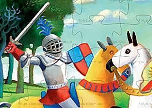 Детский пазл «Средневековый рыцарь», DJ07231, фото