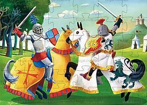 Детский пазл «Средневековый рыцарь», DJ07231, отзывы