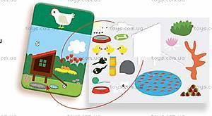 Развивающие наклейки «Животные», DJ08379, фото