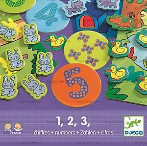 Развивающая игра Djeco «1,2,3», DJ08315