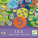 Развивающая игра Djeco «1,2,3», DJ08315, отзывы