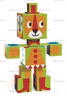 Детские тотем-кубики «Графика», DJ09111, отзывы