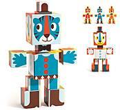 Детские тотем-кубики «Графика», DJ09111, детские игрушки