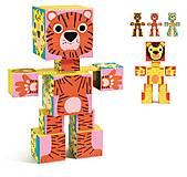 Тотем-кубики «Животные», DJ09109, toys