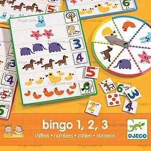 Настольная игра «Числа Бинго», DJ08318