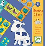 Детское домино «Цвета животных», DJ08111
