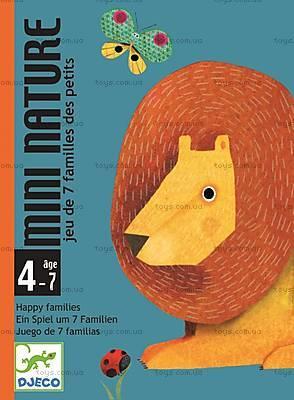 Карточная игра Djeco «Мини природа», DJ05128