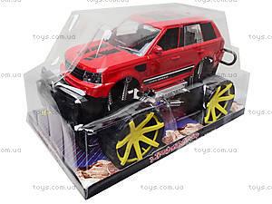 Детский джип с большими колесами, 688-3A, цена