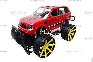 Детский джип с большими колесами, 688-3A, toys