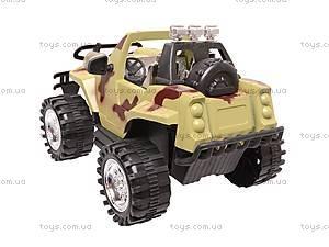 Джип инерционный «Армия», 95512, игрушки