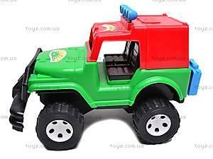 Джип игрушечный «Хаммер», 0021, фото