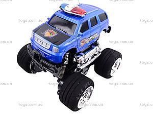 Джип на радиоуправлении «Полиция», 2957-02, детские игрушки