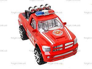 Инерционный джип «Пожарная полиция», 361D1, фото