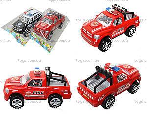 Инерционный джип «Пожарная полиция», 361D1