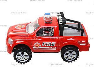 Инерционный джип «Пожарная полиция», 361D1, цена