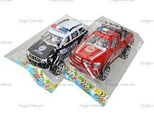 Инерционный джип «Пожарная полиция», 361D1, игрушки