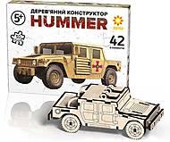 Джип Хаммер - конструктор, 91123, фото
