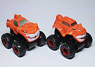 Джип Monster Wheels оранжевого цвета, KLX500-236, фото